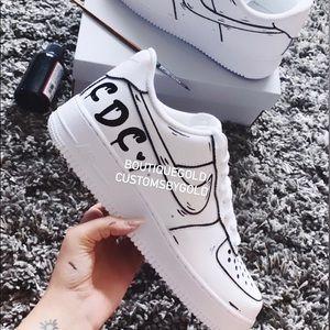 Personalized graffiti Nike Air Force 1 CUSTOMS